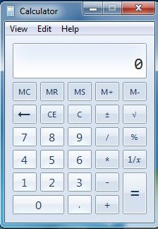 windows 7 Calculator