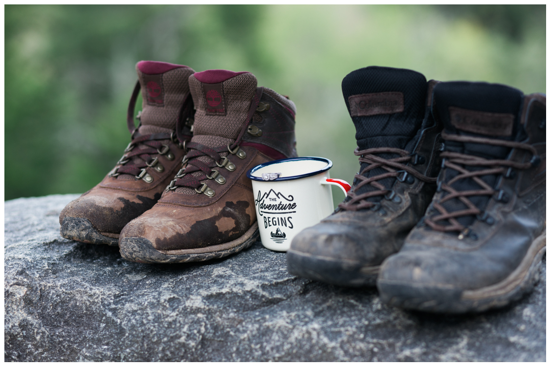 creative-hiking-ring-picture-Charlies-Bunion-engagement-Jill and Daniel