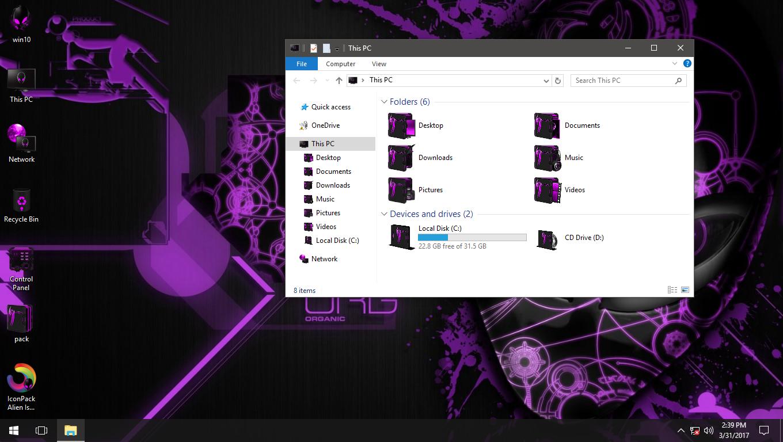 Alien Isolation Violet