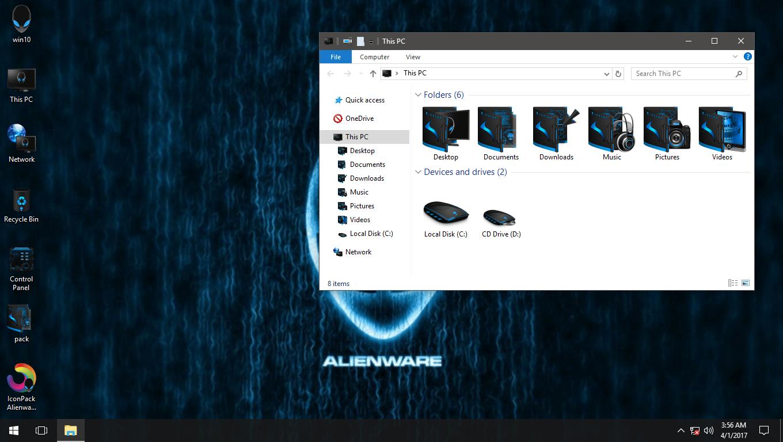 Alienware Advanced Blue