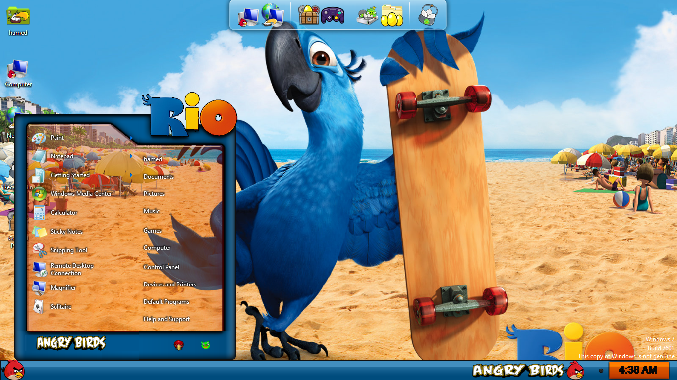 Angry birds starwars2 skin pack skinpack customize your.