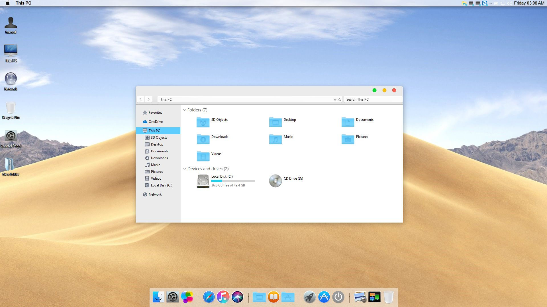 How to get macOS Mojave's Dynamic Desktop on Windows 10