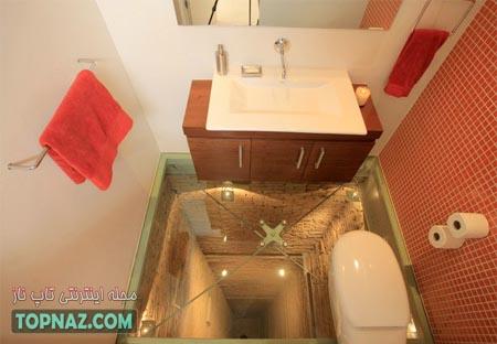 دستشویی وحشتناک