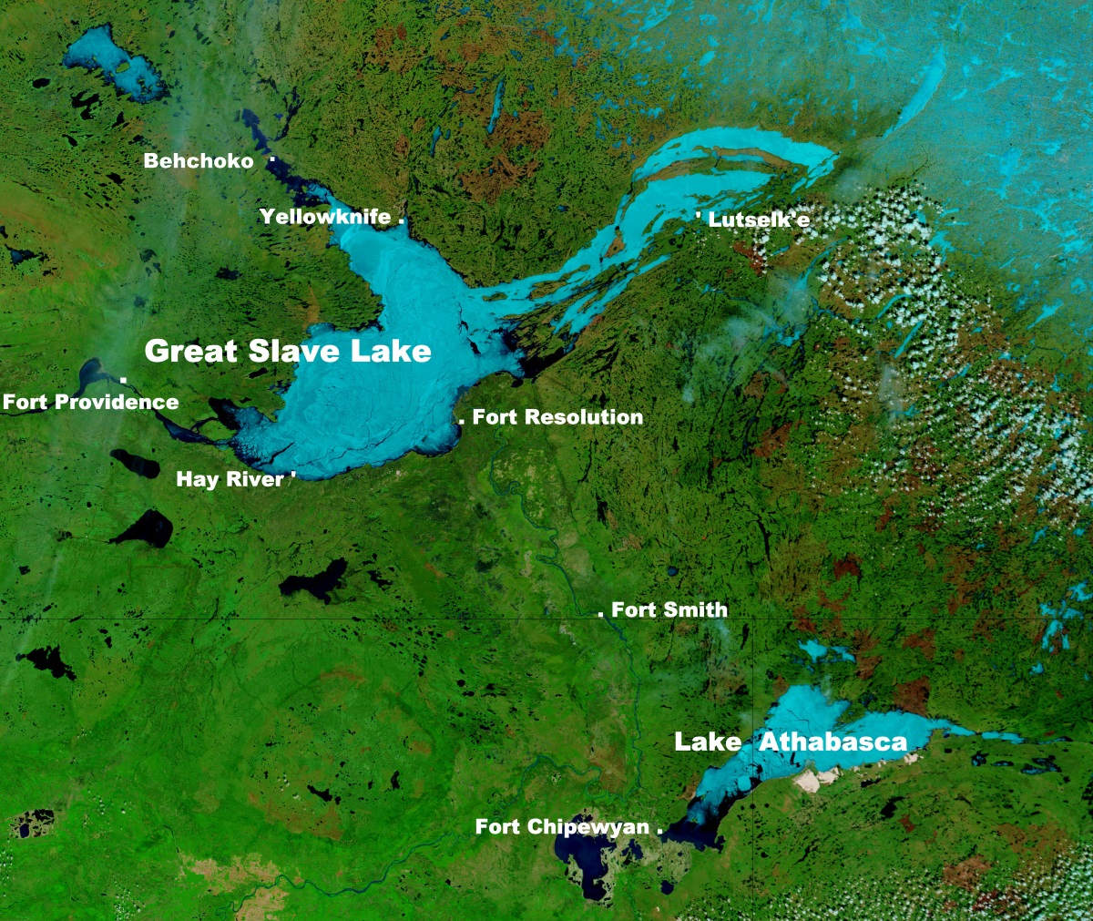 Did A Lake Exist Under Laurentide Ice Sheet