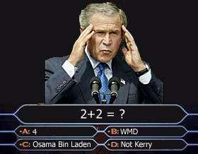 bush final answer