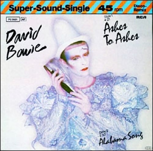 Ashes To Ashes - Super Sound Single Cover - David Bowie - 1980