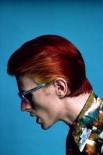 A photo of Bowie from a 1974 Los Angeles photo shoot