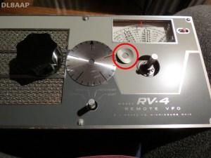 Drake RV-4 VFO-Knopf