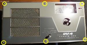 Drake RV-4 Lösen der Frontplatte