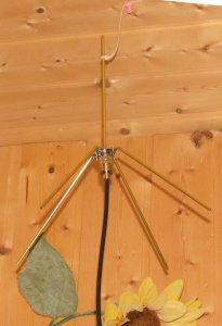 Selbstbau Groundplane für 70cm