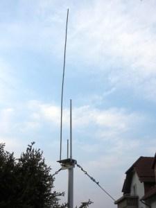 Prototyp OSJ-Antenne Duoband 2m/70cm