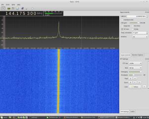 144 MHz Spekttrum SG31