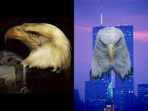 Glitter Graphics » Cultural Pride » 9-11 Eagles