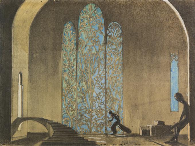 Thief of Bagdad-William Cameron Menzies