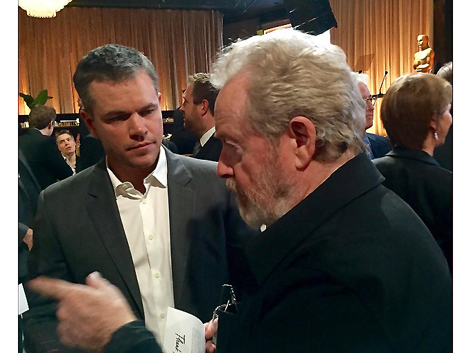 Matt Damon - Ridley Scott - 2016