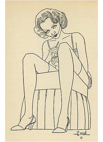 Marlene Dietrich by Alex Gard