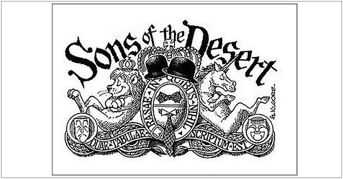 Sons of the Desert Crest-Al Kilgore