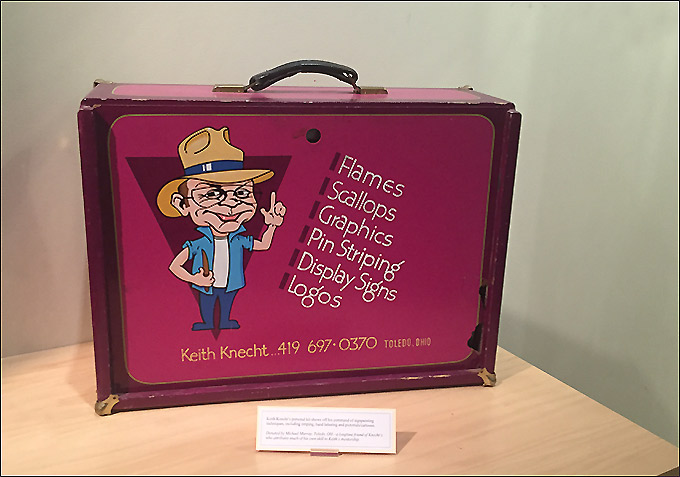 Keith Knecht Vintage Suitcase