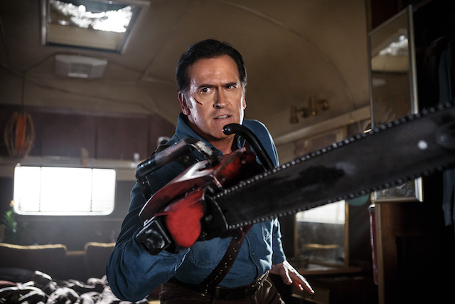"Bruce Campbell in ""Ash vs. Evil Dead"""