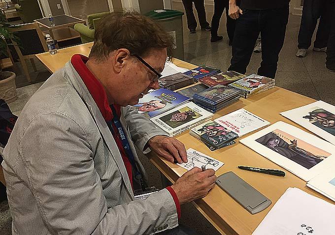 Animator Bill Plympton