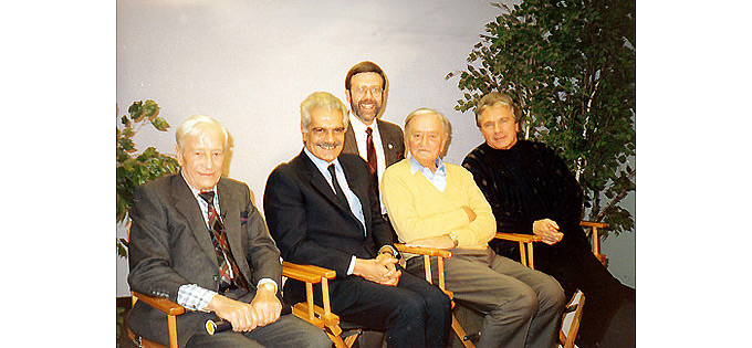 """""""Lawrence of Arabia"""" reunion in 1989-2a"""