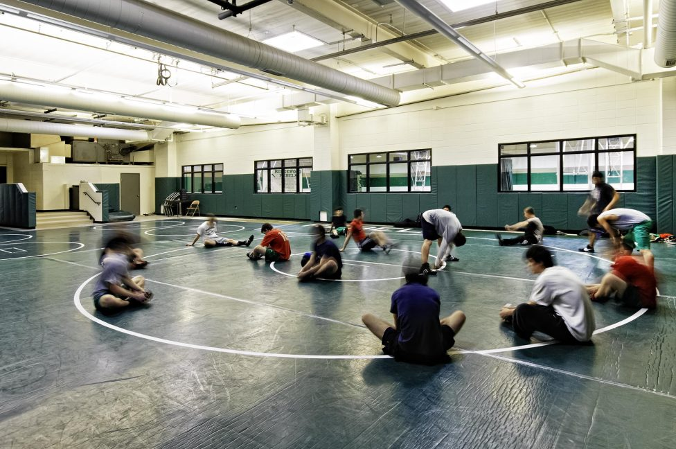 The space accommodates a variety of fitness programs