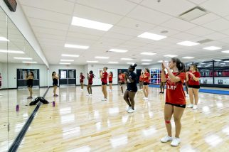 Extracurricular Activities are enhanced in this new Fieldhouse