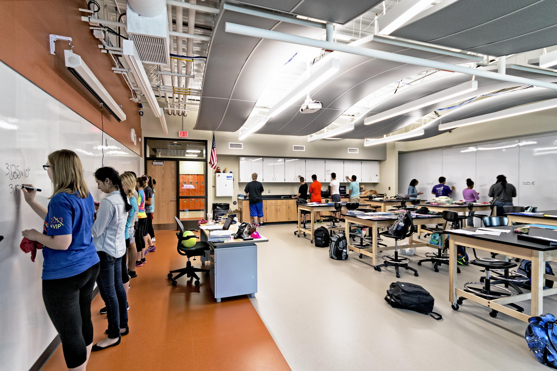 Science Corridor Amp Administrative Addition At Shepard