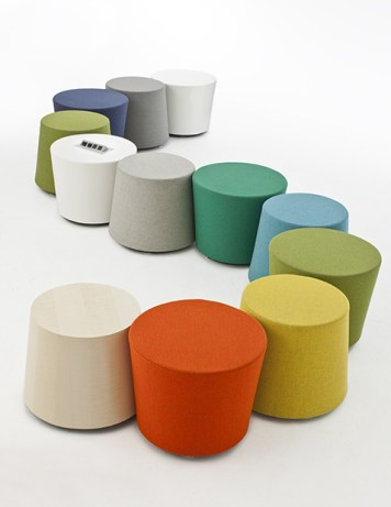 'Moment' stool & table collection by Neinkämper - ICF Group