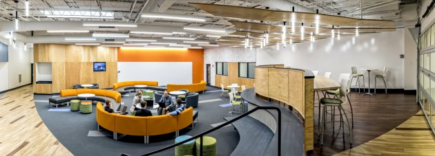 Student space for peer-to-peer collaboration