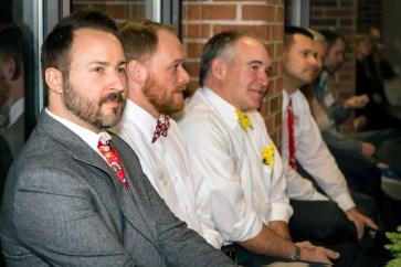 Matt Lowe; Matt Stoub; Dave Dillon; and Rich Kocek (DLA Architects; Ltd.)