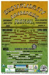 Sat 7/27 in Auburn,CA Hip Hop Congress Sustainability Festival- Scarub(Living Legends),DLabrie,Rahman Jamaal,Task 1ne,J Ross Parrelli,Agustus Thelefant & more