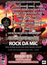 SAT 9/19 in Redwood City - Rock Da Mic feat. YDMC, Rahman Jamaal, James tha Spitta, Skrilla Sam and more