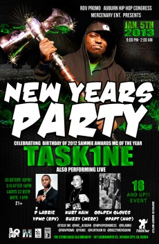 1/5/13 in Nevada City- Task1ne Bday party ft. DLabrie & YDMC ....18 and up!!