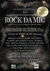 10/17 (Anniversary 89 quake) - RonDa-VOODOO tour takes over Redwood City whole RDV crew live - YDMC, Rahman Jamaal, B-Jada, DLabrie, James tha Spitta, Madman, Big Murph of Soulful Obsession & more at Bobby D's