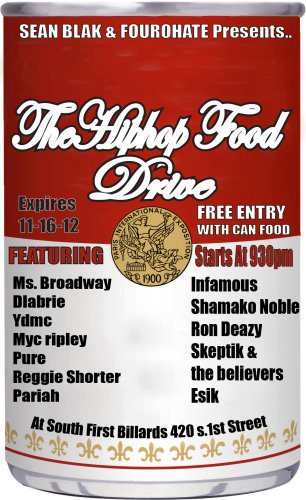 FREE ENTRY w/ Canned Food