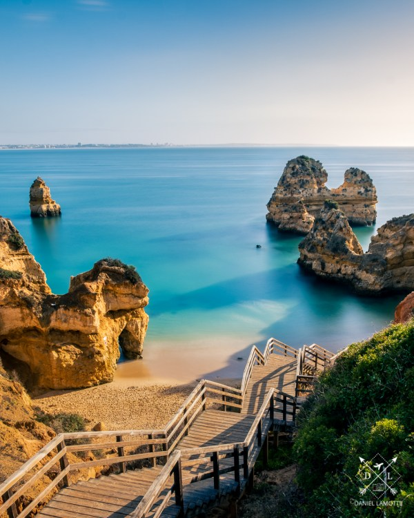 plakat fotograficzny portugalia algarve praia do camilo