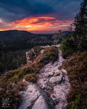 plakat fotograficzny Góry Stołowe