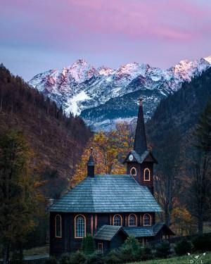 Kościółek w Tatrach