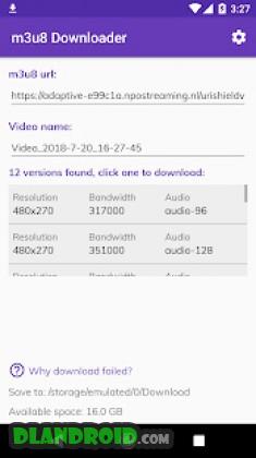 Lj Video Downloader (m3u8, mp4, mpd) Apk Mod