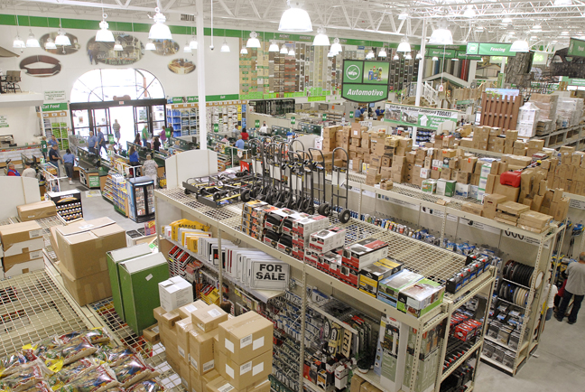 How to sell to Menards   Manufacturer Sales Represenative store inside