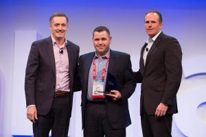 Petra_Hilton_Conley_Bratspies_receive_walmart_supplier_of_the_year_award