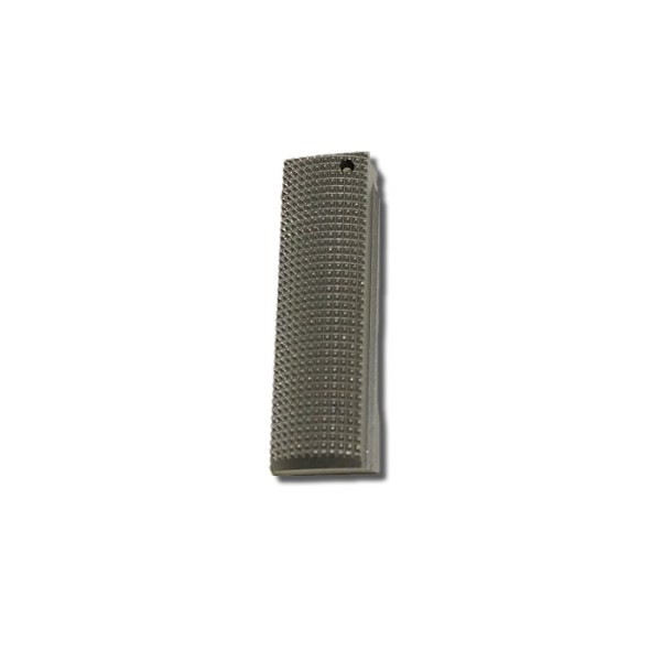1911 Mainspring Housing, Checkered Stainless