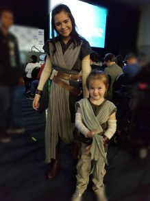 Adorable Star Wars Jedis at Wondercon 2018