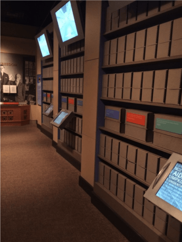 National Archives exhibit - DPLAfest