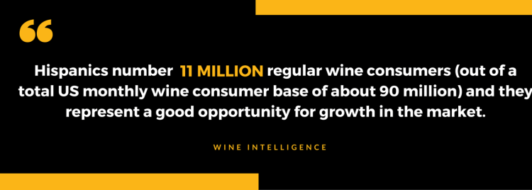 Asian-American households are 140% more likely to buy a bottle of wine worth $20 or more than non-Hispanic whites""
