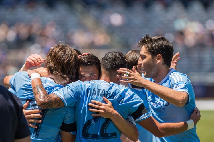 NYCFC - Team Celebration