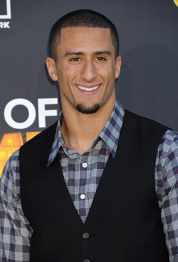 Colin Kaepernick - Multicultural vegan Celebrity