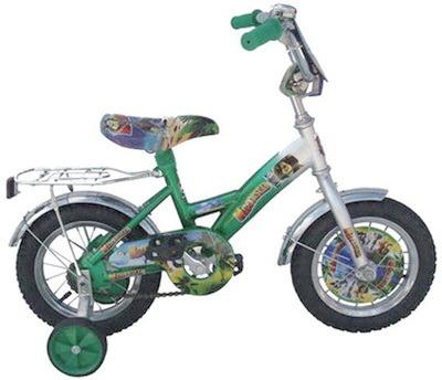 Obychnye velosipedy detskie