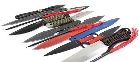 Спортивные метательные ножи. Виды и особенности. Устройство